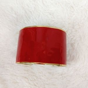Red thick Bracelet